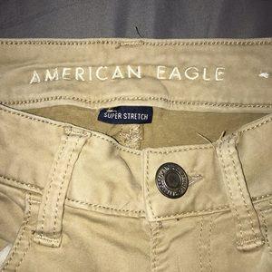American Eagle Khaki Jeggings